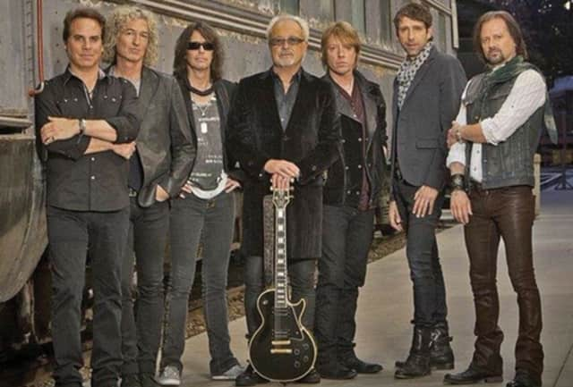 Foreigner will join the Port Chester High School choir at The Capitol Theatre on Thursday, Feb. 19.