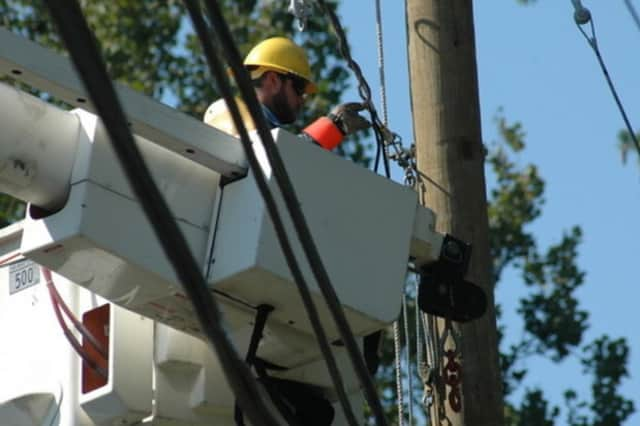 Eversouce is on the way to Greenwich after thousands of customers were without power on Thursday evening.
