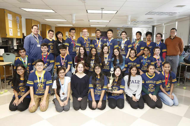 In March, fifteen students will represent Ardsley at the state competition.
