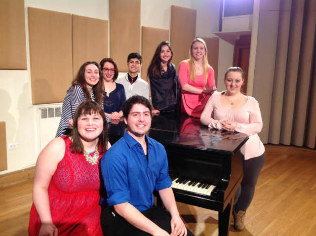 "Music students at Manhattanville College will perform a free concert, ""Fresh Voices, From Beethoven to Broadway,"" at the library."