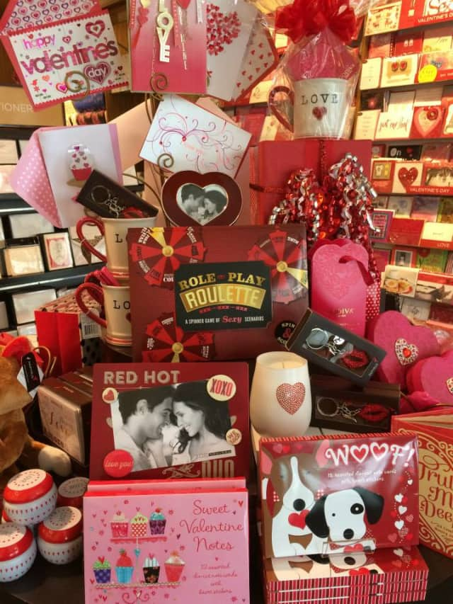 The Bronxville Chamber of Commerce has been busy getting ready for Valentines Day.