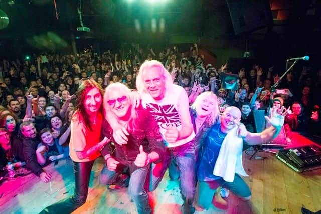 Uriah Heep will perform at the Ridgefield Playhouse on March 1.