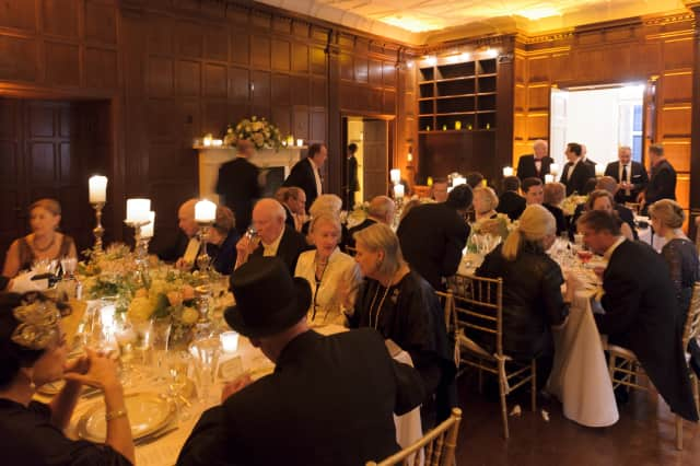"The Bruce Museum's Winter Benefit, inspired by ""Downton Abbey,"" was a success."