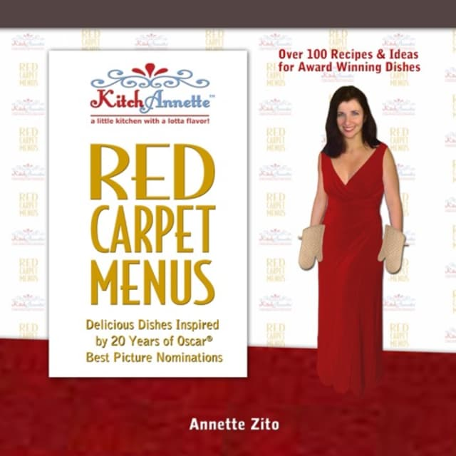 """Annette Zito, author of """"Red Carpet Menus"""" has devised a menu specific to this year's Best Picture nominees."""