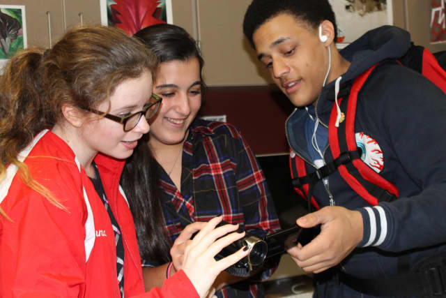 Jewish and Latino teens are collaborating to make a film for the film festival in Sleepy Hollow.