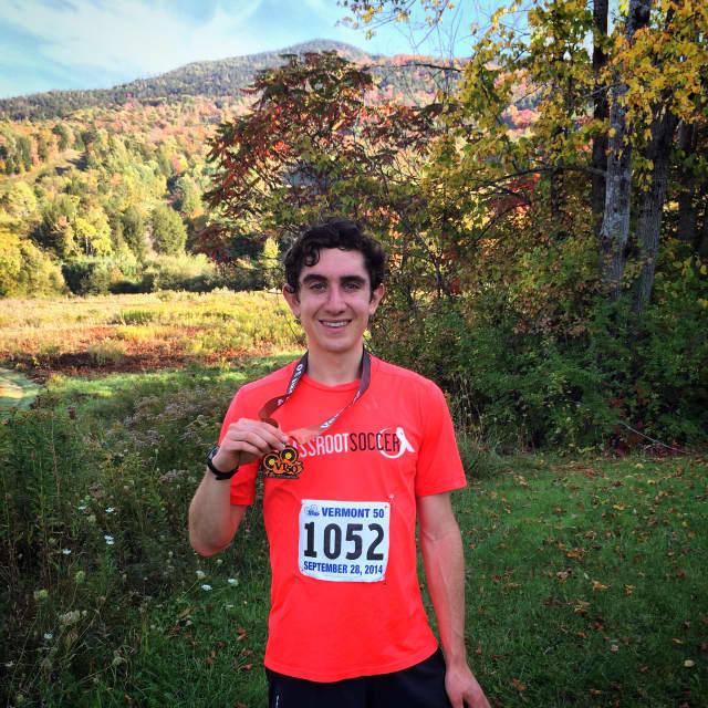Josh Elkes will be running nine marathons in nine days in Haiti.