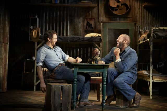 """The Ridgefield Playhouse will broadcast a production of """"Of Mice and Men"""" from London's National Theatre on March 8."""