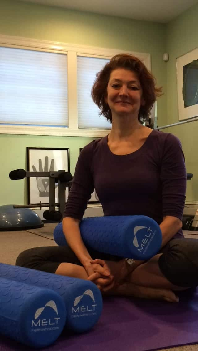 Joy Jacobson leads MELT classes in Mamaroneck.