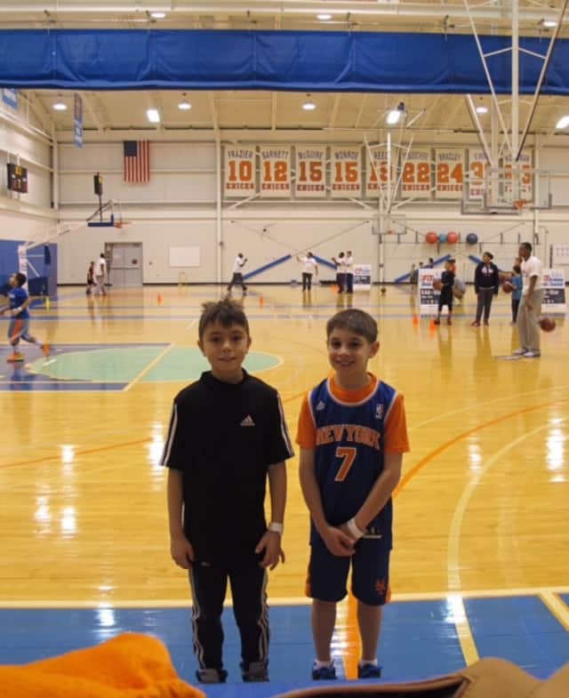 Ossining youths participated in a basketball competition