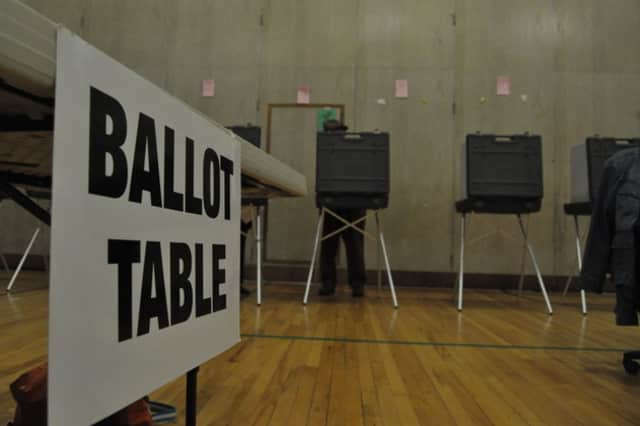 Polls are open from 6 a.m. to 8 p.m. Tuesday.