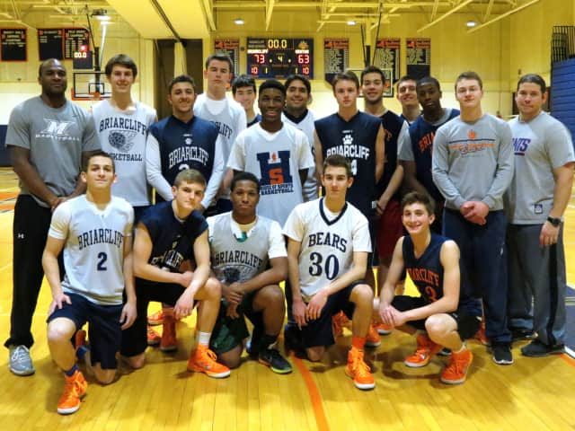 Briarcliff High School's boys varsity basketball team is preparing for its matchup against Irvington High School in the Section 1 Class B semifinal on Wednesday.