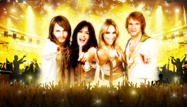 Get ready to dance with the ABBA band, ARRIVAL playing March 1 at Stamford's Palace.