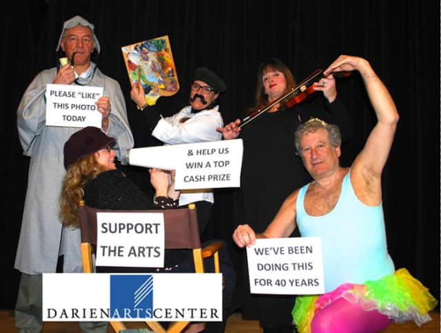 Head over the the Darien Arts Center's Facebook page and like this photo to help them win a Giving Day photo contest.