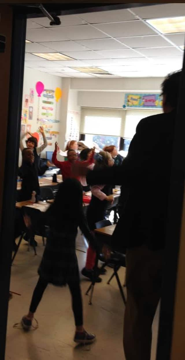 """Students at The Chapel School are participating in the """"Spring Training"""" challenge."""