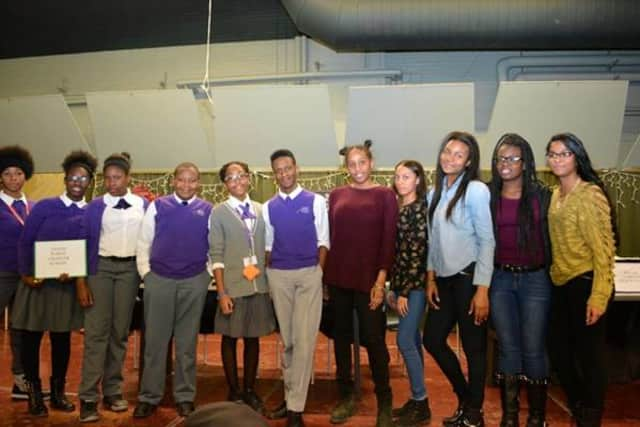 Nellia A. Thorton High School won the championship title at the Mount Vernon Community That Cares coalition's annual Black History Month Challenge.