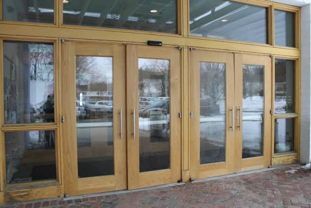 The Wilton Library will be replacing its weather-worn exterior doors beginning Wednesday. Patrons will be directed to temporarily use another set of doors in the front. The installation should be completed by March 11.