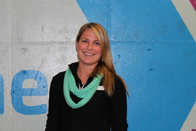 Jessica VanSciver, Director of Health & Fitness at at the Darien YMCA.