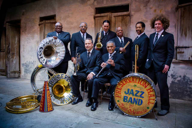 The Preservation Hall Jazz Band will perform at the Ridgefield Playhouse on Wednesday.