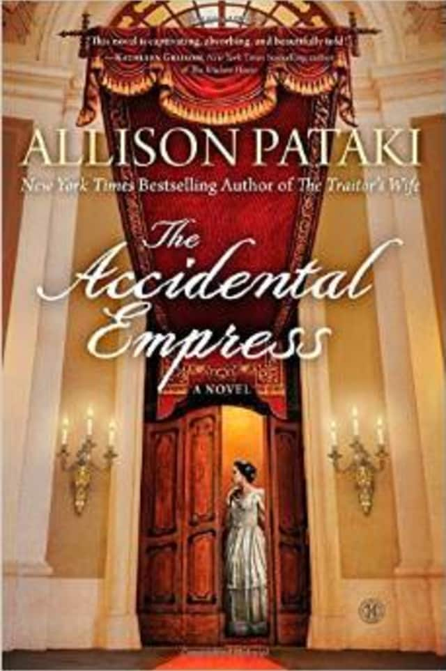 """Peekskill resident Allison Pataki is celebrateing her book """"The Accidental Empress"""" debuting at number seven on the New York Times bestseller list."""