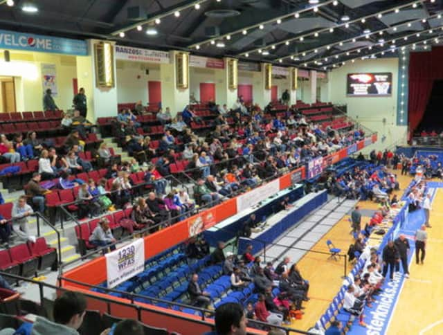 The County Center in White Plains.