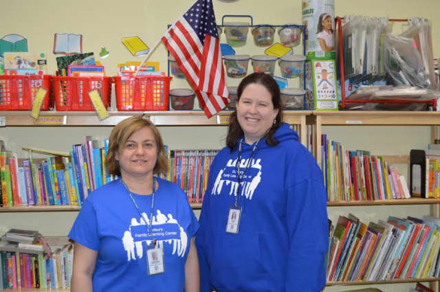Parent coach Angelina Stojakovic and Loren Daly, coordinator of the Family Learning Center. The center is holding its 4th annual Touch a Truck kid friendly event Saturday, Sept. 19.