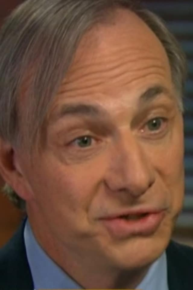 Ray Dalio of Westport, the founder & Co-Chief Investment Officer, Bridgewater Associates, ranks No. 60 on the world's list of billionaires, according to Forbes.