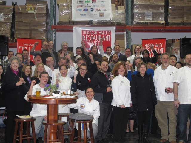 Chefs and other dignitaries kick off Hudson Valley Restaurant Week.