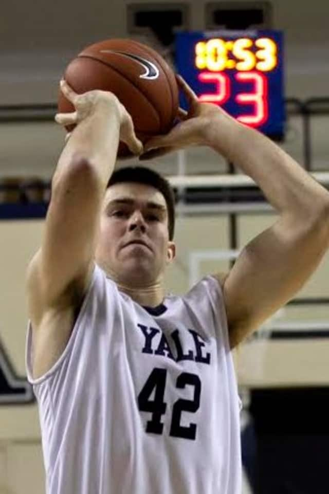 Chappaqua's Matt Townsend has combined basketball success with academic brilliance at Yale University.