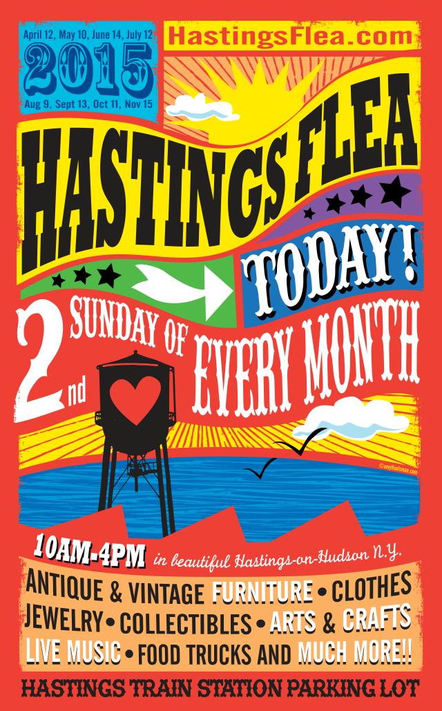 The 2015 season of Hastings Flea begins April 12.
