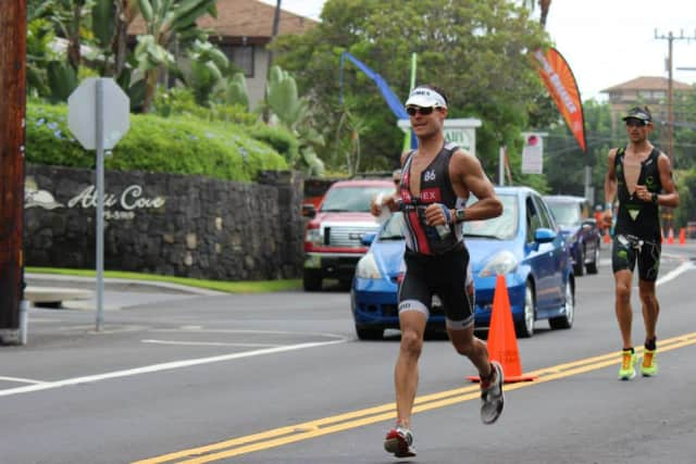 Chris Thomas of Easton was named the Masters Triathlete of the Year for the third straight time.