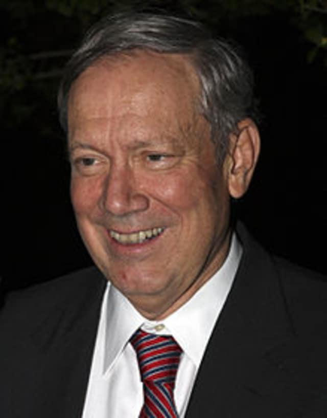 Former New York Gov. George Pataki made an apperance at the Iowa Agriculture Summit recently.