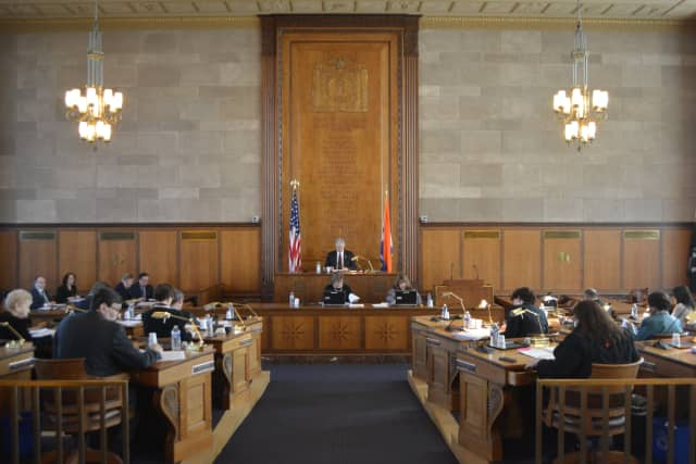 Westchester County legislators voted at their Monday meeting in White Plains.