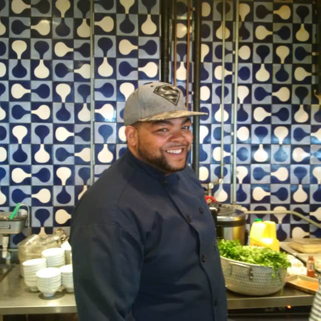 """Maurice """"Mo"""" Major lives in New Rochelle and is a chef in Port Chester."""