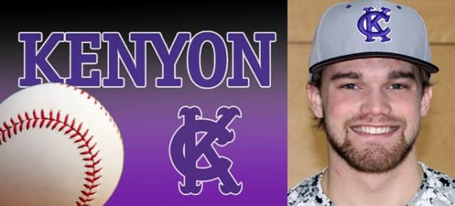 Briarcliff native Paul Henshaw threw a no-hitter for Kenyon College on Sunday.