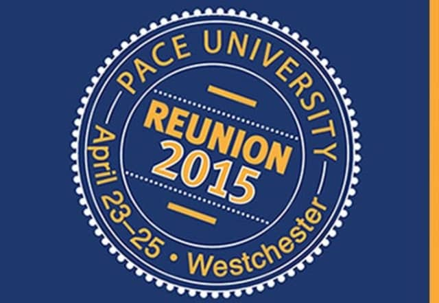 Pace University is holding reunion and alumni events.