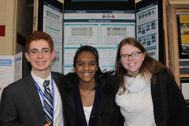 Students from John Jay High School participated and won honors at the Westchester Science and Engineering Fair.