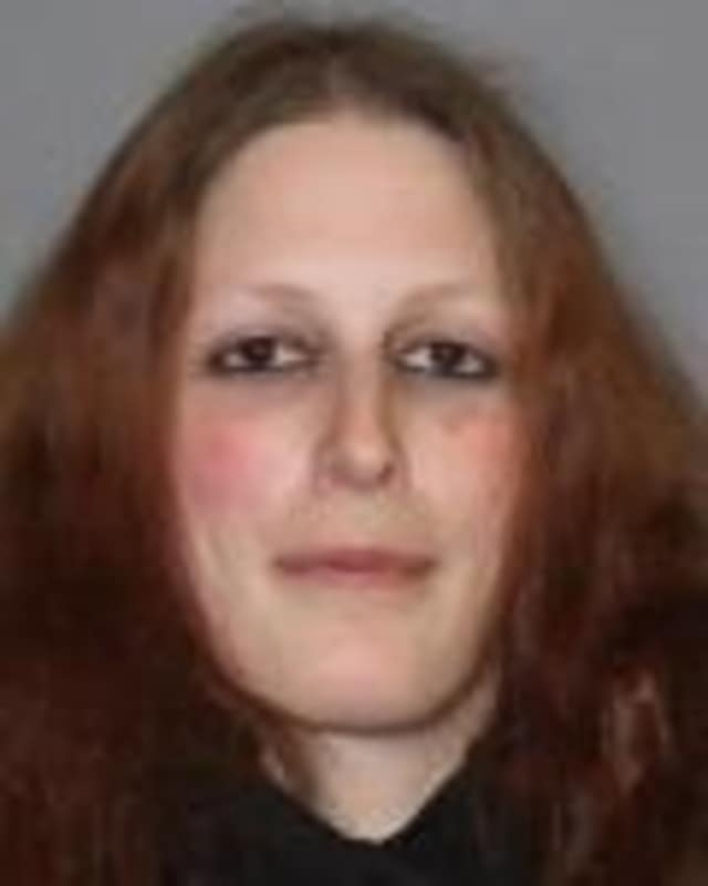 Pawling resident Michelle Baron, 31, was charged with driving while intoxicated when her car was found in a snowbank near the Somers Library, according to the Somers branch of the New York State Police.