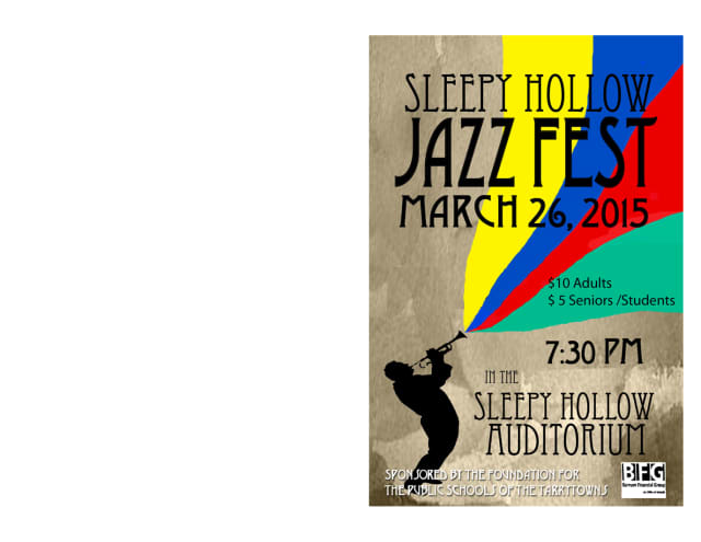 The 12th annual Sleepy Hollow Jazz Festival returns March 26.