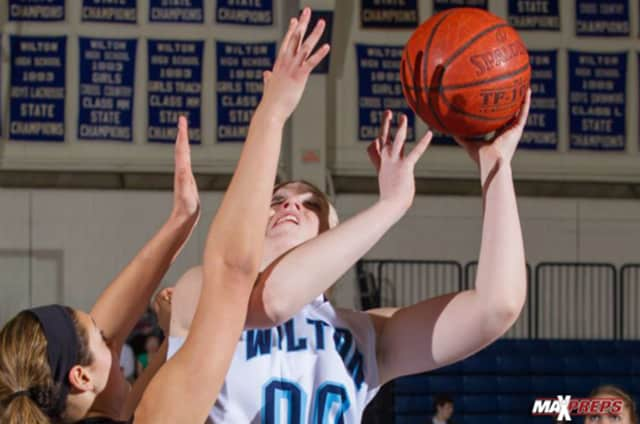 Wilton's Erika Meyer will try to help the Warriors win their first state title in Saturday's game against South Windsor.