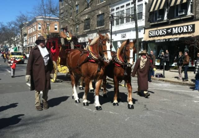 The Greenwich Hibernians 2017 St. Patrick's Day parade will begin at 2 p.m. Sunday, March 19 at Town Hall.