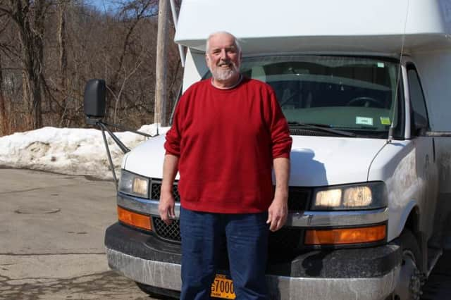 Mahopac resident Louis Valentino, a bus driver for Putnam County, has shed 92 pounds since having weight-loss surgery at Putnam Hospital Center in September.