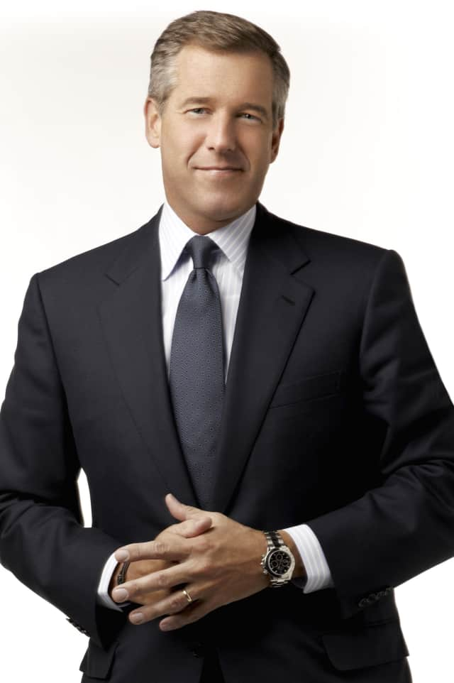 Brian Williams made his first public appearance over the weekend since he was suspended from the 'NBC Nightly News.'