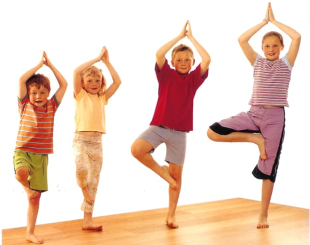 Yoga for kids is among the activities planned for Saw Mill Club's spring mini camp for children.
