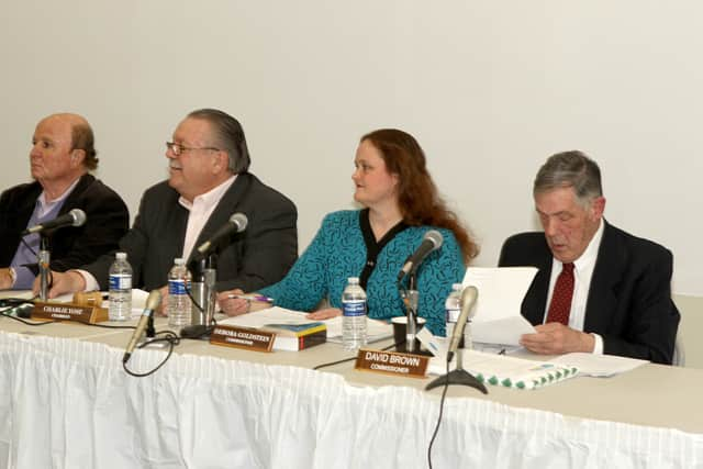 The electors of Third Taxing District recently held their annual meeting at the Marvin Community Room in East Norwalk.