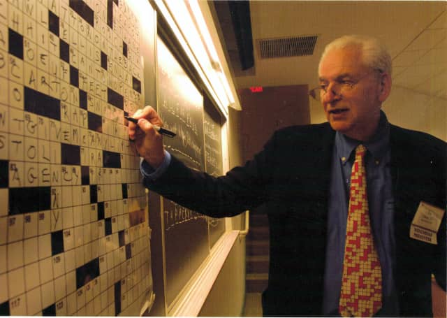Ed Stein of Mamaroneck will attend his 39th crossword puzzle tournament this weekend.