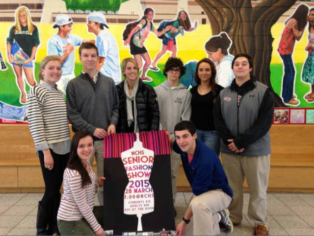 New Canaan High School will host a fashion show fundraiser on Saturday.