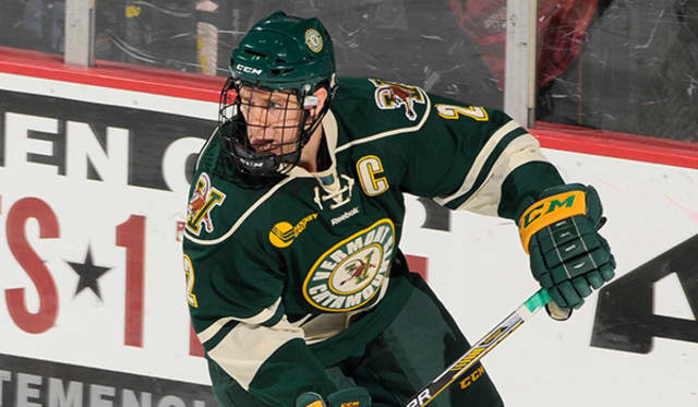 Michael Paliotta of Westport agreed to terms with the Chicago Blackhawks.