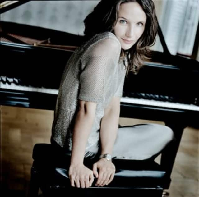Hélène Grimaud  will perform with the Stamford Symphony April 25 and 26.