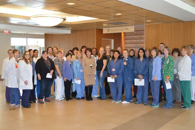 NewYork-Presbyterian/Hudson Valley Hospital nurses were recently recognized for their work in Cortlandt Manor, as part of Nurse Certification Day.