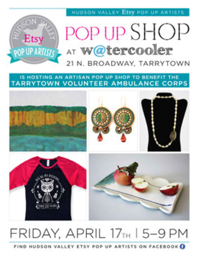 Local artists will showcase and sell their work to raise money for the Tarrytown Volunteer Ambulance Corp.
